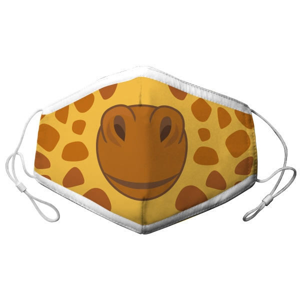 YOUTH ADJUSTABLE GIRAFFE FACE MASK