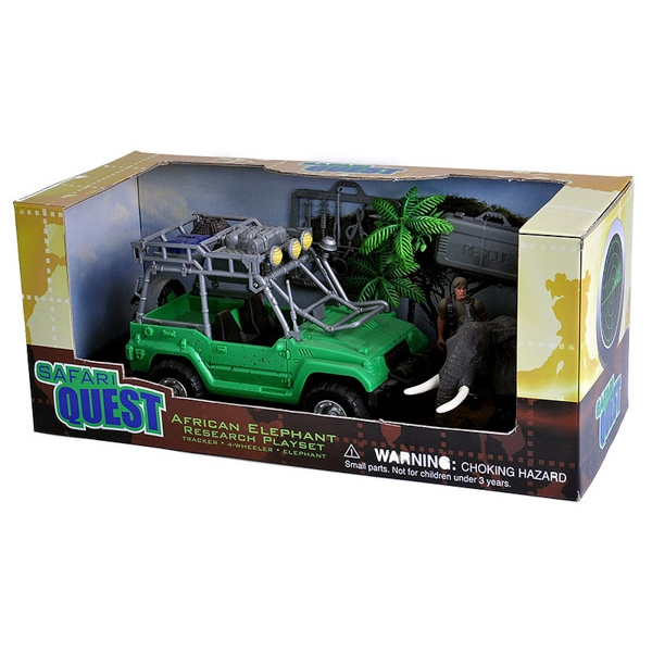 SAFARI QUEST AFRICAN ELEPHANT RESCUE PLAYSET