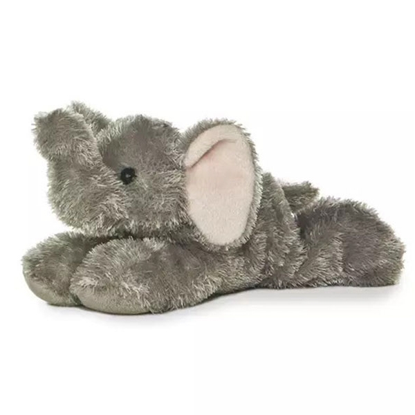 ELEPHANT MINI FLOPSIE PLUSH