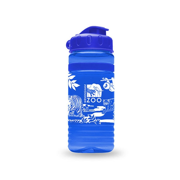 SPORT BOTTLE ANIMAL LOGO BLUE