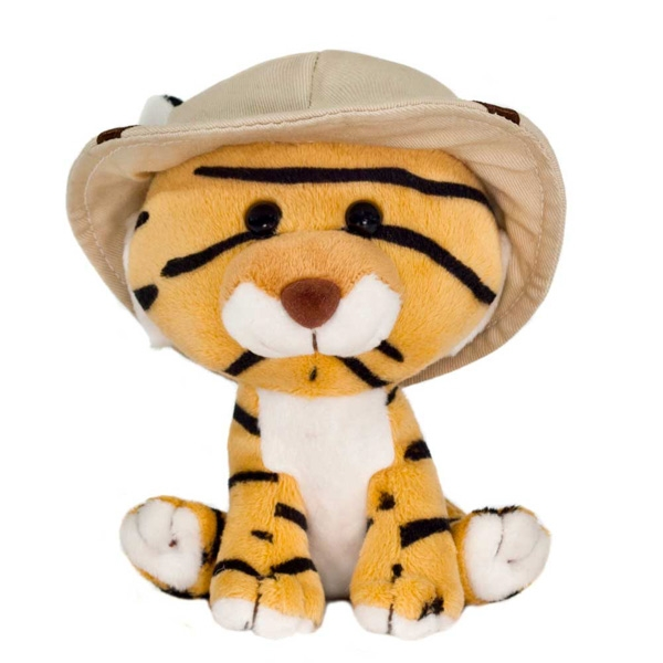 SAFARI FRIENDS TIGER PLUSH