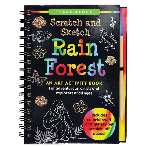 SCRATCH AND SKETCH RAINFOREST