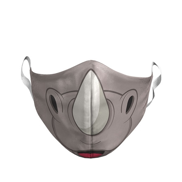 YOUTH CARTOON RHINO MASK