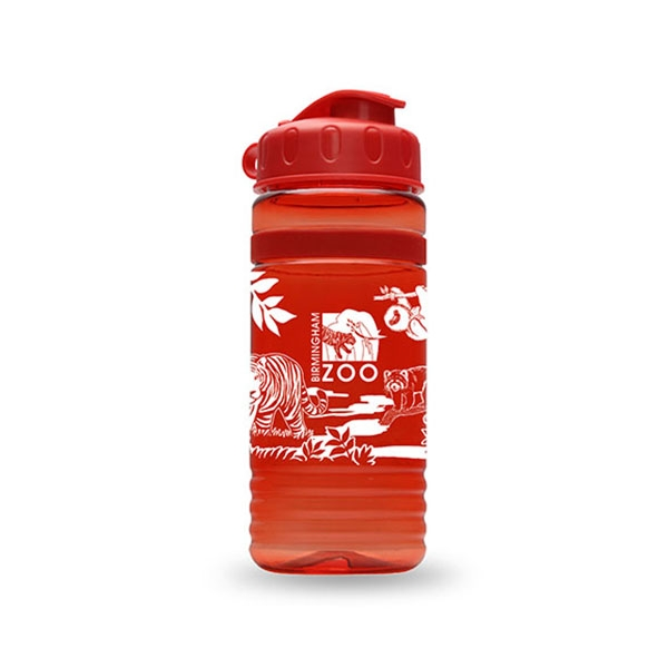 SPORT BOTTLE ANIMAL LOGO RED