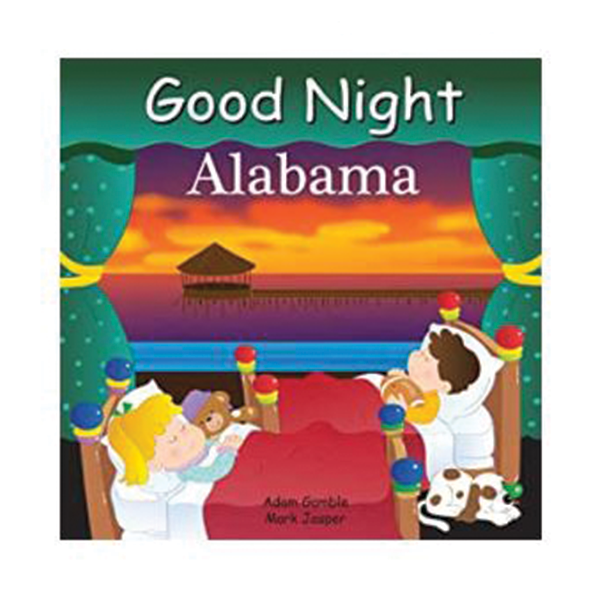 GOOD NIGHT ALABAMA BOARD BOOK