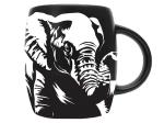 ELEPHANT ETCH MUG